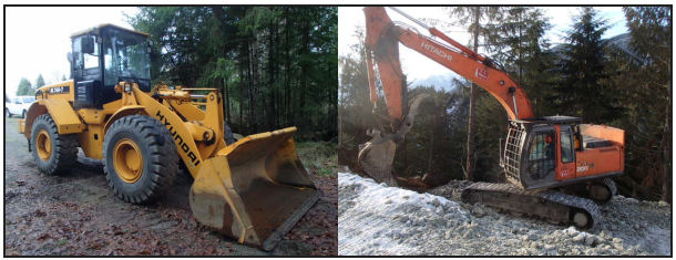 loaders and excavators for sale